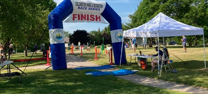 Photo taken at the finish line.