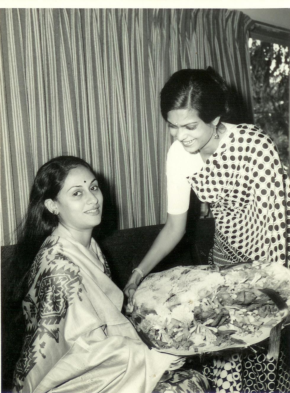 Ashaji with Jaya Bachchan