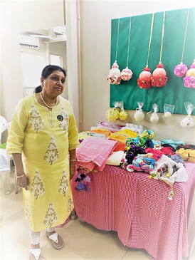 Founder Sumitra Shroff @Nayee Disha sale
