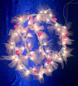 Toran with fairy lights