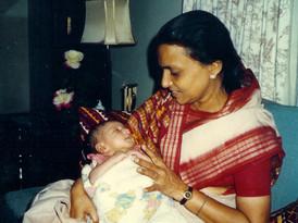 Founder Pushpaji with Grandson