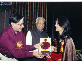 Agroha Vikas Award by Subhash Goel