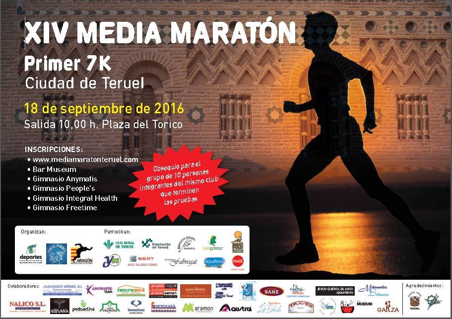 Media Maratón Ciudad de Teruel 2016