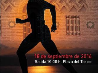 Flyer de la Media Maratón Ciudad de Teruel