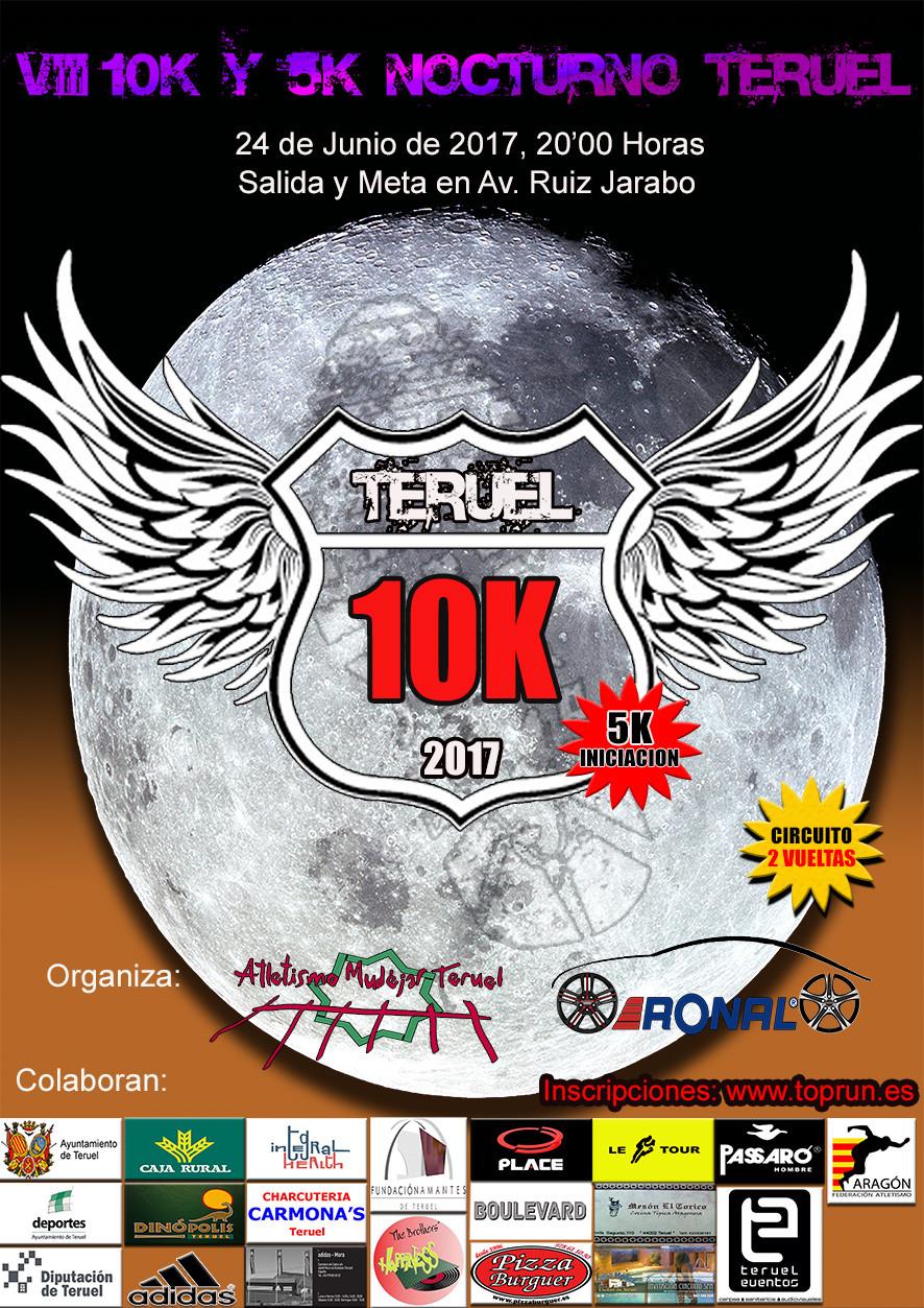 VIII 10k y 5k Nocturno Teruel 2017
