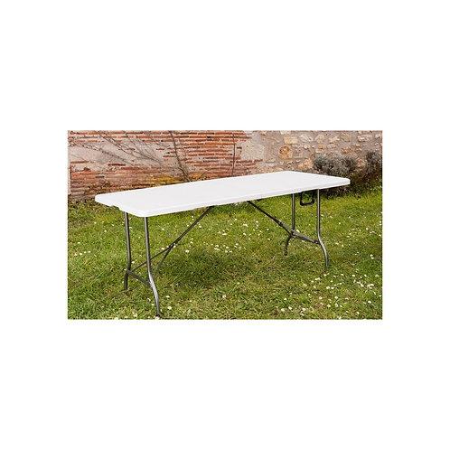 Table de reception pliante 180×74×74cm