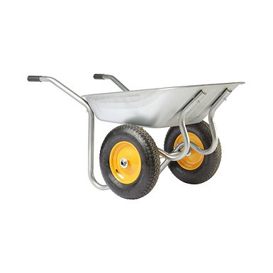 Brouette jardin 2 roues