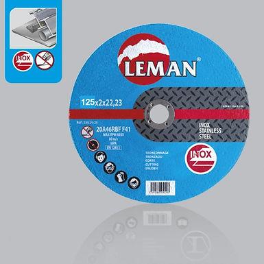 DISQUE TRONCONNAGE INOX 125 ou 230 / 3mm