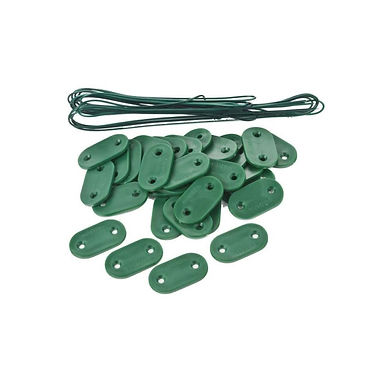 Kit de fixation vert pour brise vue
