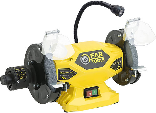 Fartools Touret à meuler 400 W Diamètre 150 mm