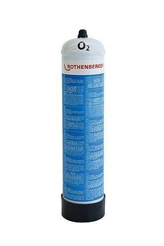 Rothenberger Bouteille d'oxygène en acier