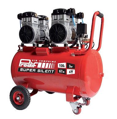Compresseur d'atelier silencieux PRODIF 100 l 3 cv SIL1003 230 V