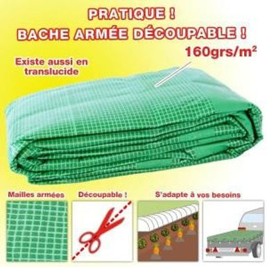 BACHES Multifonction + 160g/m²