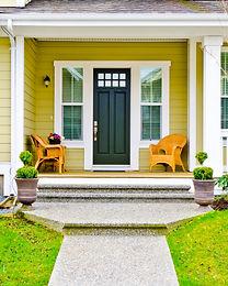 Entrance of a house_