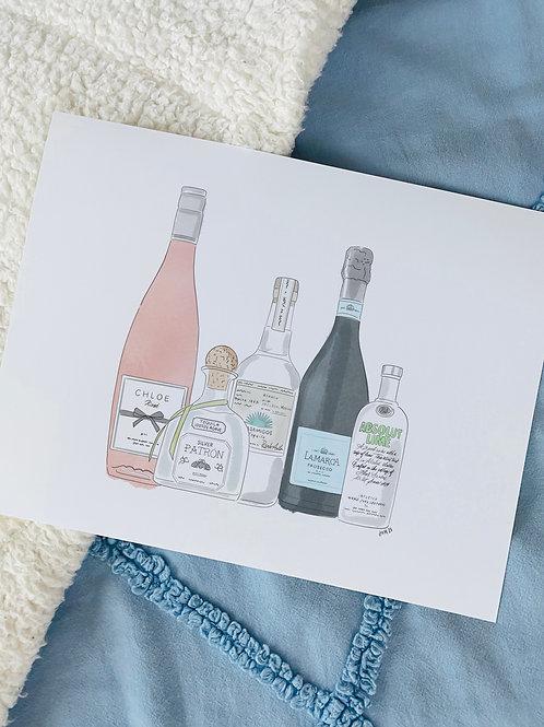 Day Drinker Print