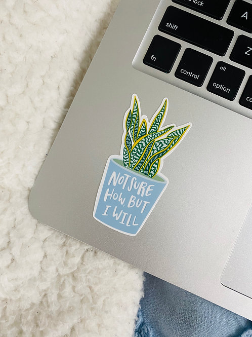 Potted plant Decal