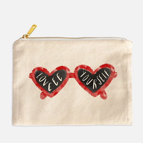 Love yourself Cosmetics bag