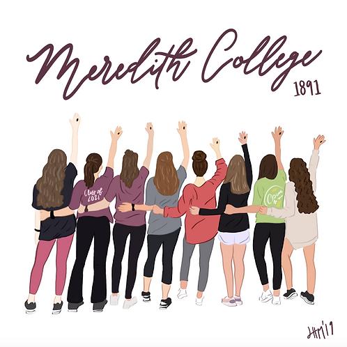 MC girls Print