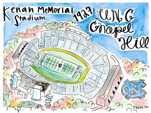 UNC Football Stadium