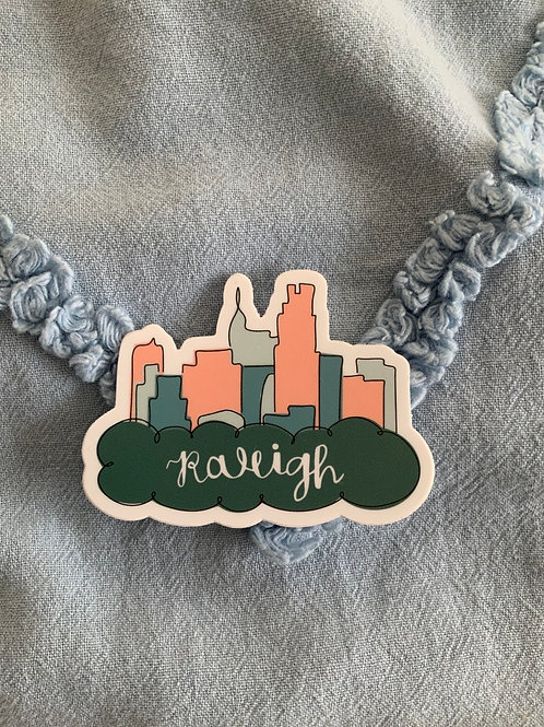 Raleigh Decal