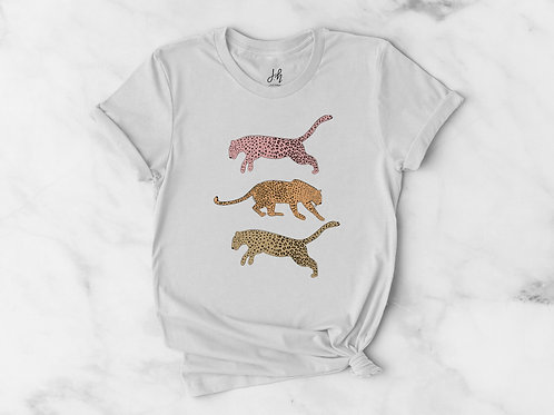 Cheetah party Graphic Tee