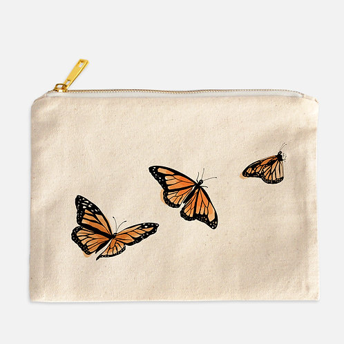 Butterfly Cosmetics bag