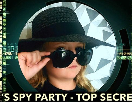 Spy:Co Spy Party Invitation as a film
