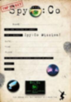 Free Spy Party Invitation - SpyCo Birthd