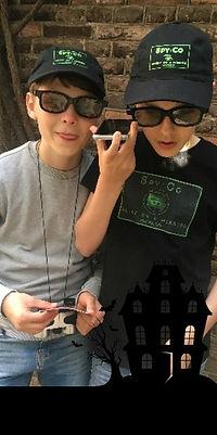 Halloweenaktivitet för barn - Spy:Co Bar