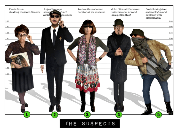 The Suspects Spy Mission 2 - Spy:Co Spy Party