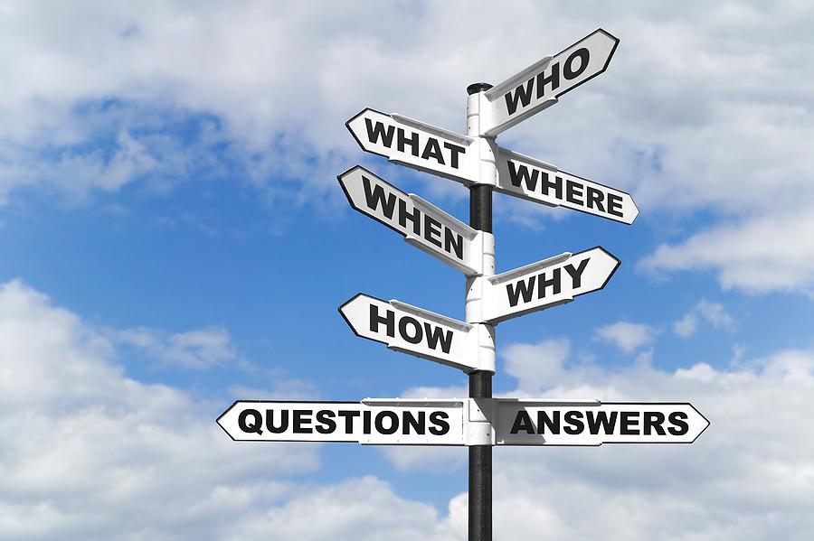 QUESTIONS & INQUIRIES