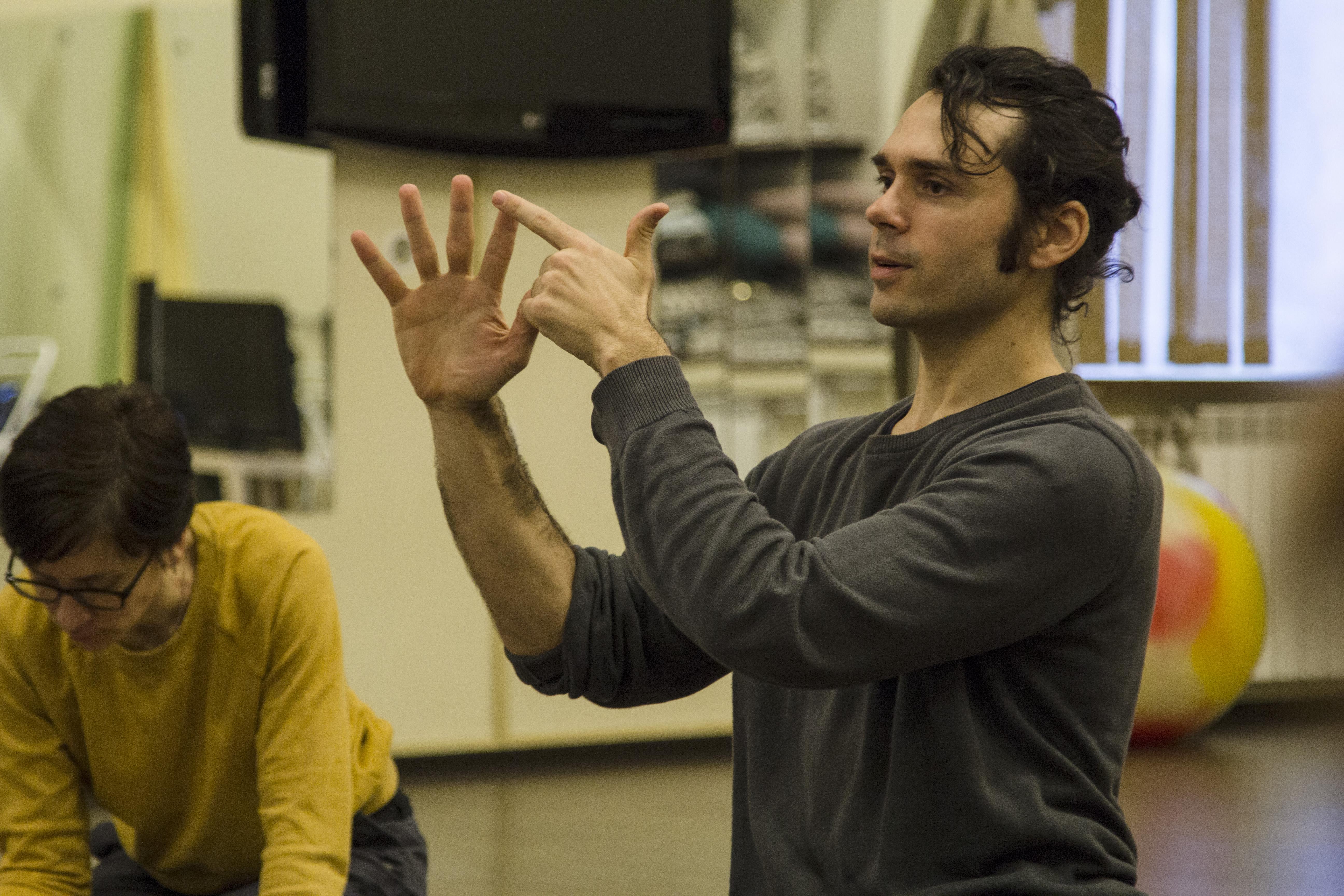 Antoine teaching in St.Petersburg