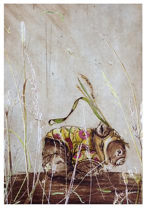 A2 Wombat field outfit #1 digital print