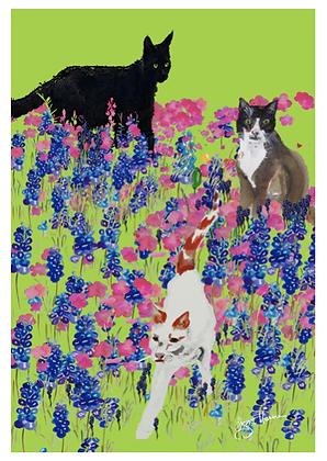 A3 Melissa's meadow Digital print