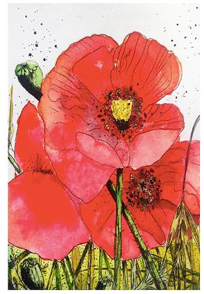 A3 Poppy seeds Digital print