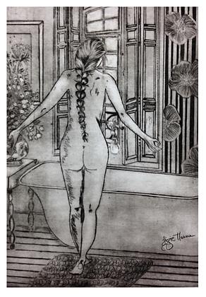 A2 Parisienne digital print