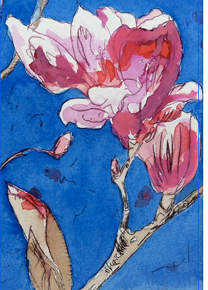 #23 Armidale Magnolia II greeting card