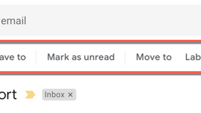 Change Gmail Icons To Text