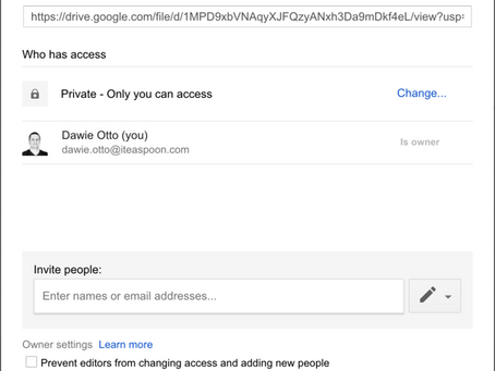 How to stop people downloading, printing or copying your Google Drive Files