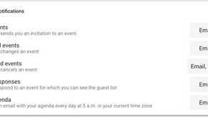 How to get your Daily Agenda emailed to you