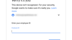 Identity verification and login challenges