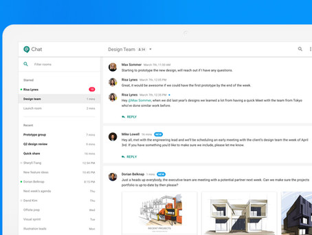 What is Hangouts Chat and how can I use it for my business?