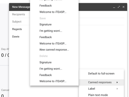 How to create multiple Gmail signatures with Canned Responses