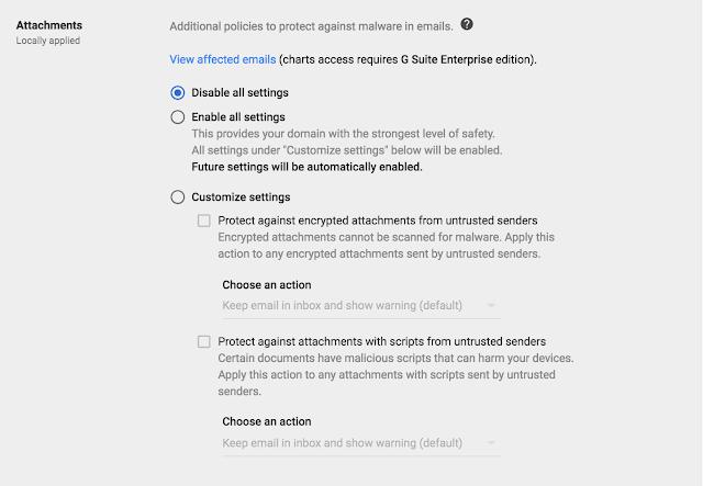 Gmail Attachments