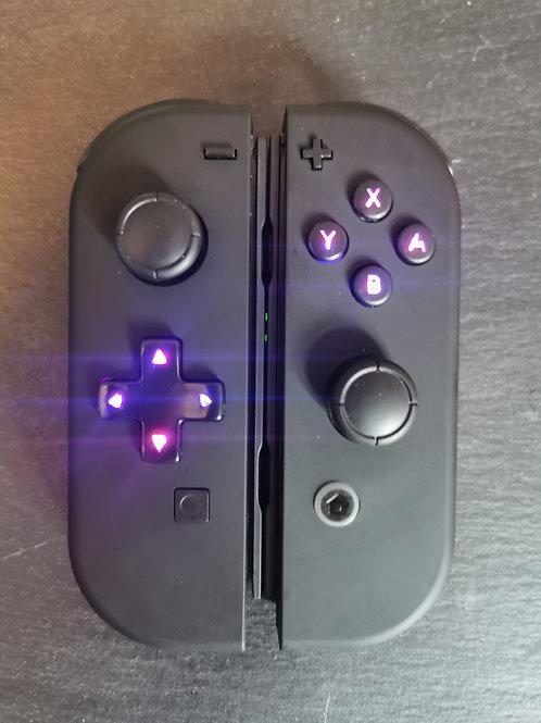 JoyCon Mod V8 DPad Soft Touch/Clear (pair)