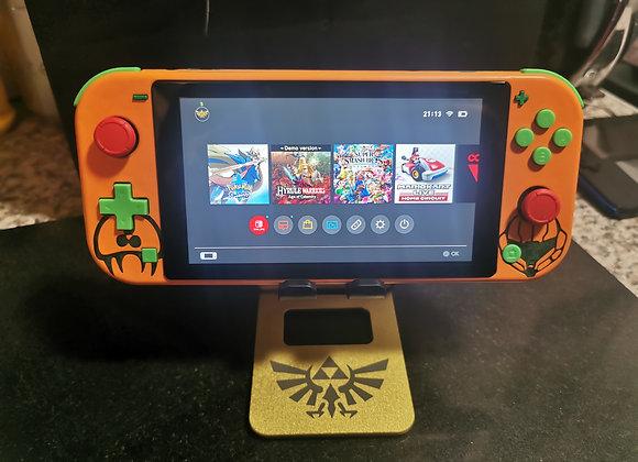 Metroid Switch Lite Shell (inc New Lite)