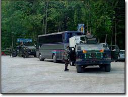 Panjive Army Escorts in Bosnia