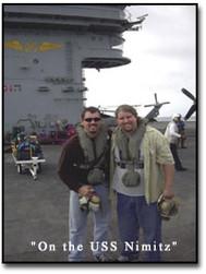 Performing On The USS Nimitz