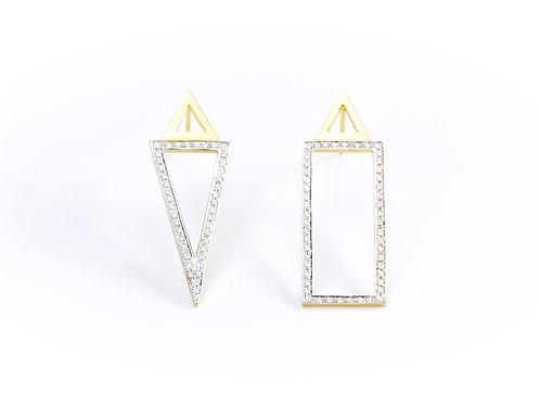 Geomet Earrings