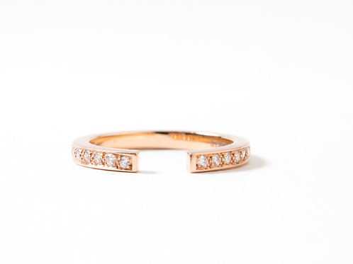 Puzzle Ring in 18k rose gold